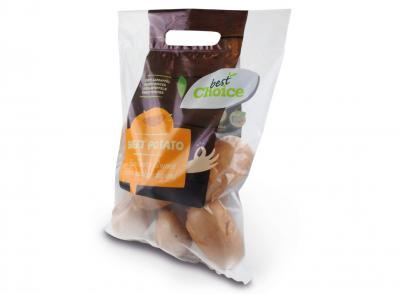 Aardappel pouch verpakking