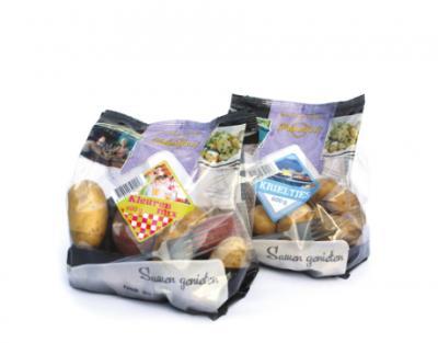 Aardappelverpakking van folie met perforatie