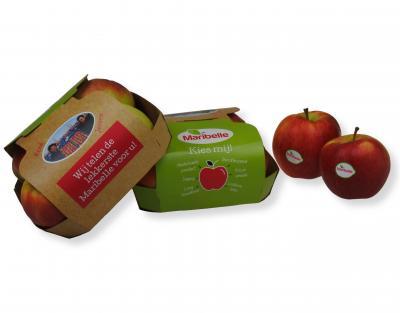 Maribelle appels in kartonnen schaaltje