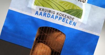 Papieren aardappelverpakking