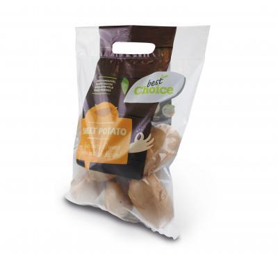 Sweet Potatoes aardappelverpakking (Joker verpakking)