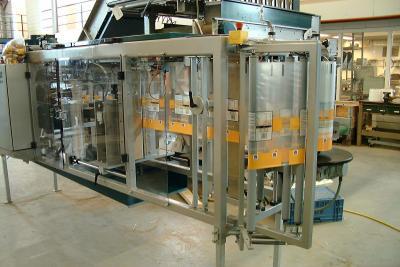 PE zakken van de rol op Manter verpakkingsmachine
