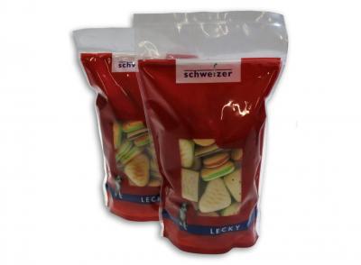 Voorgevormde plastic verpakkingen pouch
