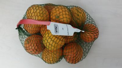 Sinaasappels in netverpakking