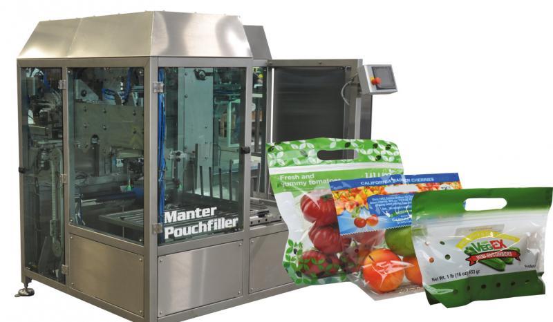 verpakkingsmachine Manter pouchfiller en pouch verpakking