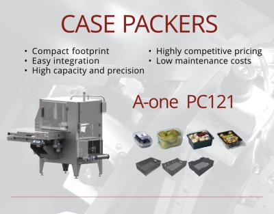 Egatec Case Packer PC 121 End of Line Solution