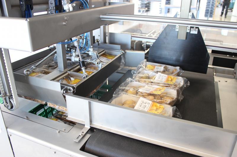 Egatec Case Packer aardappelverpakkingen