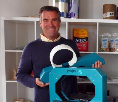 André Vois van ProBand bij Sarco Packaging