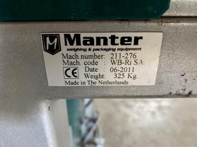 Manter Wicketbagger met Kwik-Lok 865 sluitsysteem.10