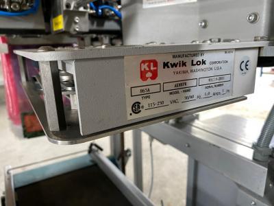 Manter Wicketbagger met Kwik-Lok 865 sluitsysteem.9