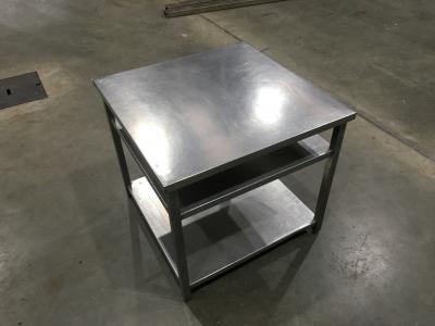 RVS werktafel 97x97x90 cm