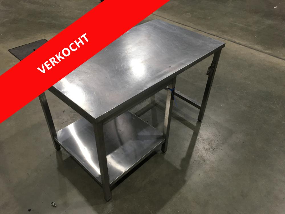 RVS werktafel verkocht