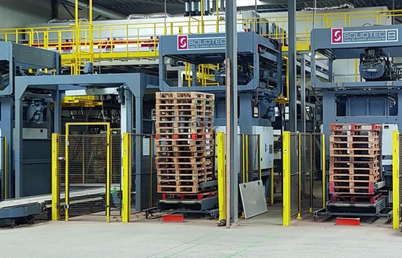 Solidtec palletiseermachines