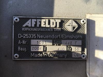 Affeldt verpakkingsmachine PE zakken.5