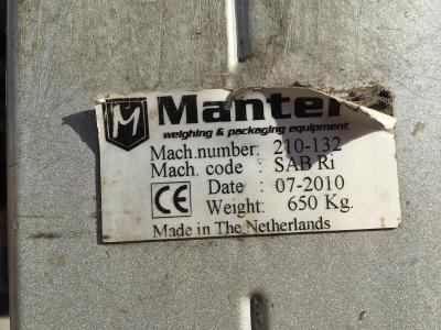 Manter MBP bagplacer en SAB verpakker.8